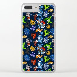 LoZ: Oldschool Snuggles Clear iPhone Case