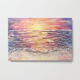 Sunset Beach 20210517 Metal Print