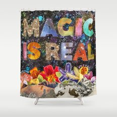 Magic Is Real Shower Curtain