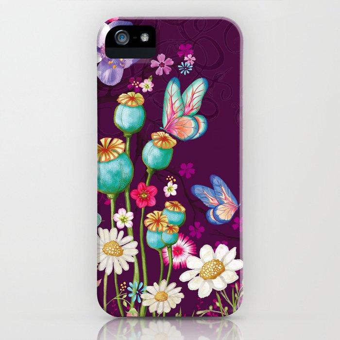Purple Meadow iPhone Case