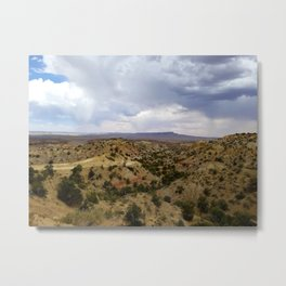 Tsélani Springs Metal Print