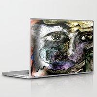 henna Laptop & iPad Skins featuring Henna Man by John Hansen