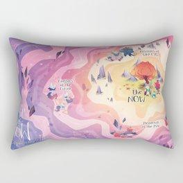 Land of NOW Map Rectangular Pillow