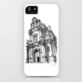Chiesa di San Giuseppe - Ragusa iPhone Case