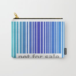 Not For Sale Barcode - Blues Carry-All Pouch