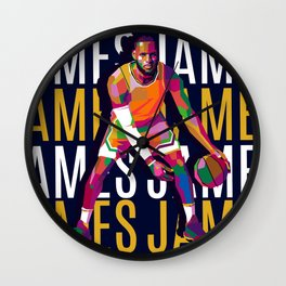 king james Wall Clock