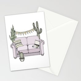 Couchella Stationery Cards