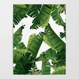Banana Green Poster