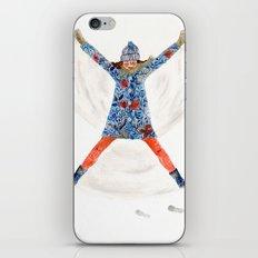 snowangel iPhone & iPod Skin