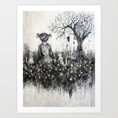 Symbiose Art Print
