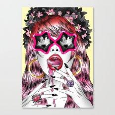 Holy Smoke! Canvas Print
