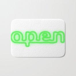 Open Bath Mat