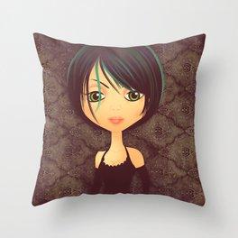 Gothica Throw Pillow