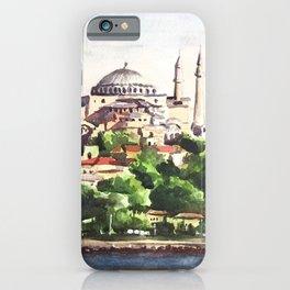 Istanbul Turkey Hagia Sophia iPhone Case