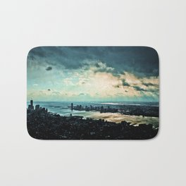 The big apple from the sky! Bath Mat