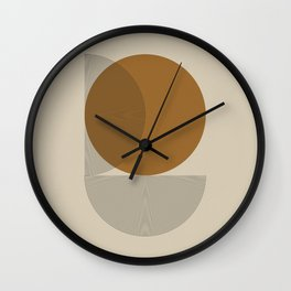Geometric Composition VI Wall Clock