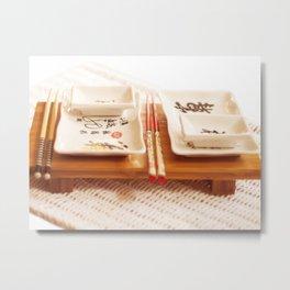 sushi dish Metal Print