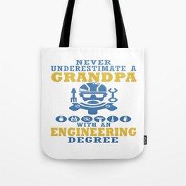 Engineering Grandpa Tote Bag