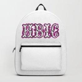 Hbic Vintage Letters Pink Backpack