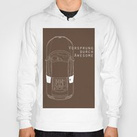 audi Hoodies featuring Vorsprung Durch Awesome by Salmanorguk