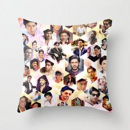 Shahrukh Khan Pillowcase Throw Pillow
