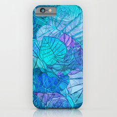Leaves in Rosy Background 3 Slim Case iPhone 6s