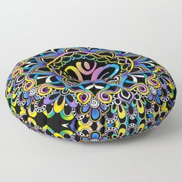 Doodle Ohm Floor Pillow