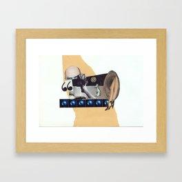 Echoes of Silence Framed Art Print