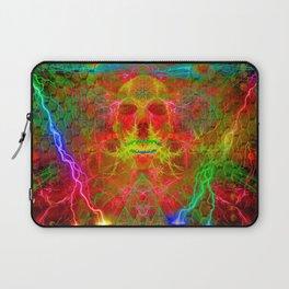 Electric Skull Laptop Sleeve