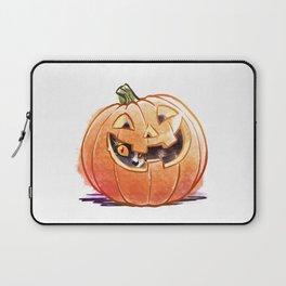 Pumpkin Spice Kitty Laptop Sleeve