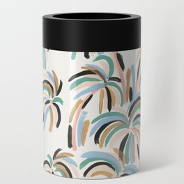 Rainbow Palm Can Cooler