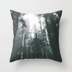 Forest XVIII Throw Pillow