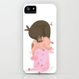 Little pigs iPhone Case