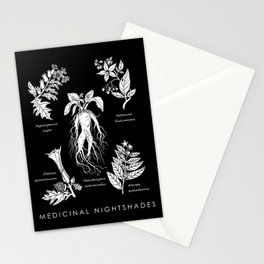 Medicinal Nightshades Stationery Cards