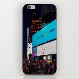 Iconic Time Square iPhone Skin