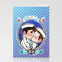 sailor Stationery Cards featuring Sailor by Sunshunes