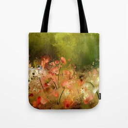 Flowers Of Corfu Tote Bag
