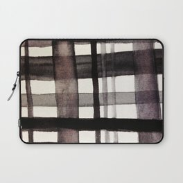 Painterly Plaid Laptop Sleeve