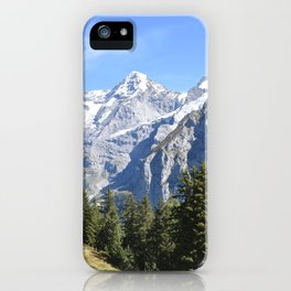 Mountain View 2 iPhone Case