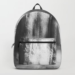 Lost in the woods - abstract infrared photograph Backpack
