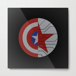 Stucky Shields (Without Quote) Metal Print