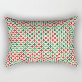 Multicolored Stars Pattern Rectangular Pillow