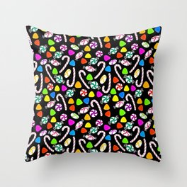 Holiday Sweets - Night Throw Pillow