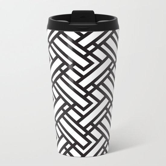geometric 5 Metal Travel Mug
