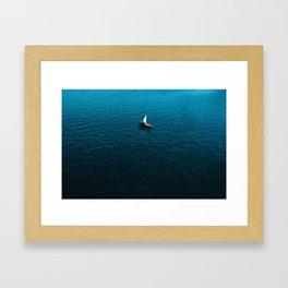 Sole Sailing Framed Art Print