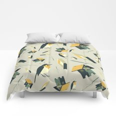 Flying Birdhouse (Pattern) Comforters