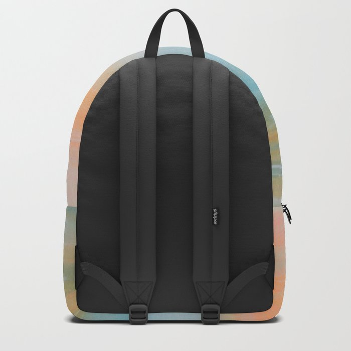 Fresh Colors Painterly Abstract Backpack