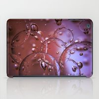 jewish iPad Cases featuring Red Glass Bubbles by Brown Eyed Lady