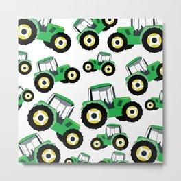 Tractor Truck Farm Equipment Metal Print