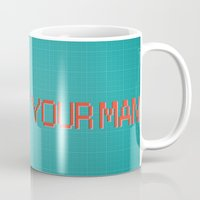 yaoi Mugs featuring Comic Cover by kami dog